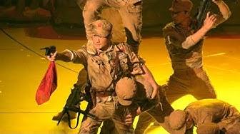 Martialisch: Chinas Unterhaltungsbranche sieht rot zum Staatsjubiläum   AFP