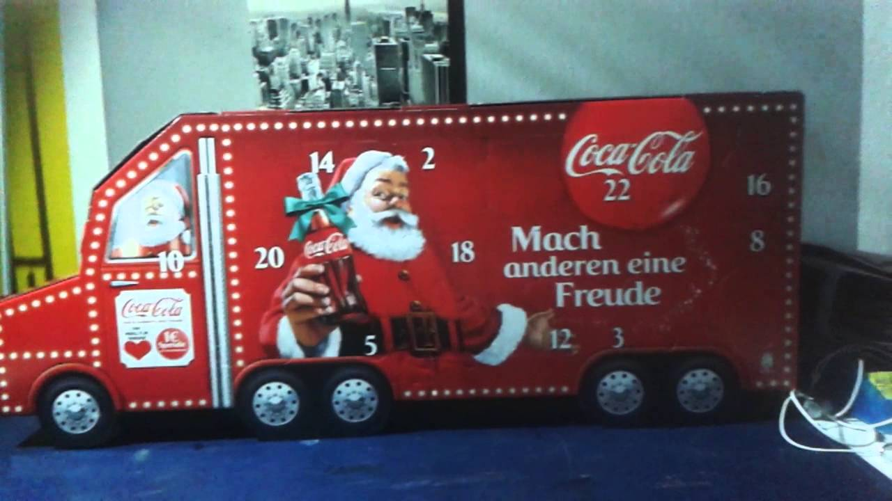 adventskalender coca cola youtube. Black Bedroom Furniture Sets. Home Design Ideas