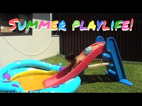 Backyard Pool Kids Fun Ideas with Toddlers Summer Outdoor Activity