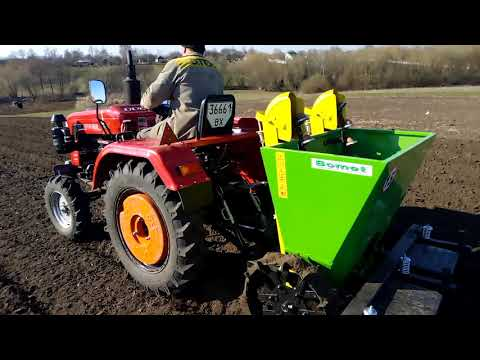 Посадка картоплі 2020 Шифенг 350l