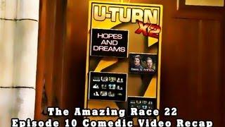 THE AMAZING RACE 22: Episode 10 Comedic Video Recap Mashup