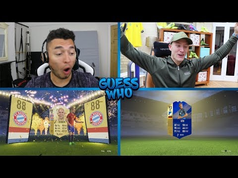 WHY DID I DO THAT!? EPIC TOTS GUESS WHO FIFA vs REEV 🔥 (TOTS GUESS WHO PACKS)