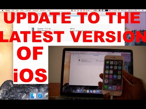 Update The IOS Software On Your IPhone, IPad, And IPod Touch WITH OR WITHOUT ITunes/Computer