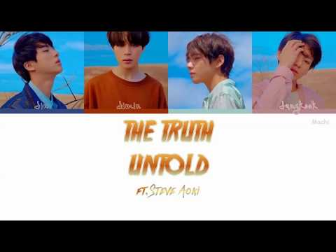 BTS (방탄소년단) - The Truth Untold  (Feat. Steve Aoki) | Color Coded Lyrics | Han/Rom/Eng