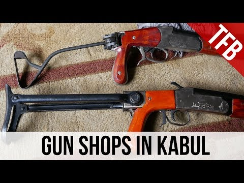 The Gun Shops Of Kabul