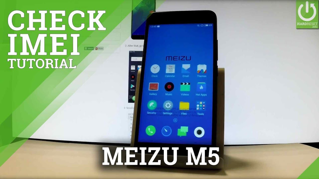 How to Check IMEI in MEIZU M6 Note - IMEI info