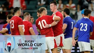 Rugby World Cup 2019: Wales vs. France | EXTENDED HIGHLIGHTS | 10/20/19 | NBC Sports