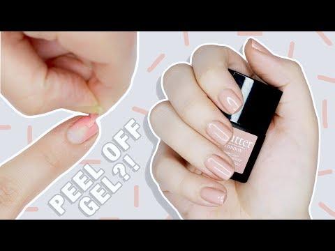 Peel Off Gel?!   Butter London Peel The Love Peel Off Gel Manicure Kit REVIEW