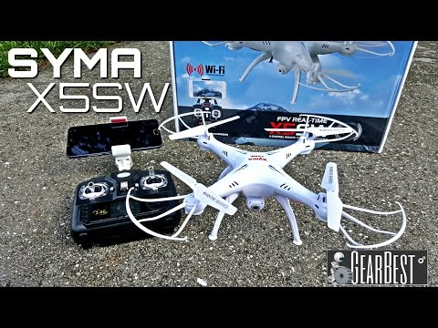 Фото Syma X5SW Quadcopter - [Unboxing & Review] - 6 Axis - 2.4GHz - WIFI - FPV - 2MP Camera