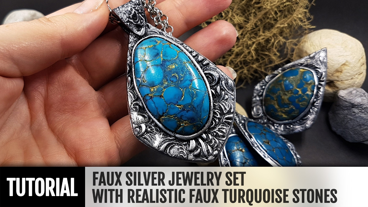 Diy How To Make Faux Silver Jewelry With Realistic Faux
