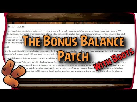 Guild Wars 2 - Distortion Share Is No More & Other Buffs/Nerfs! |  Balance With Boots 2