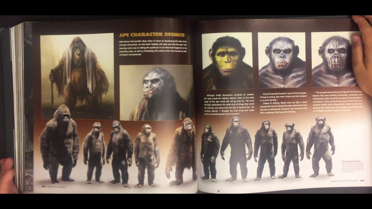 the art of the films rise of the planet of the apes and dawn of