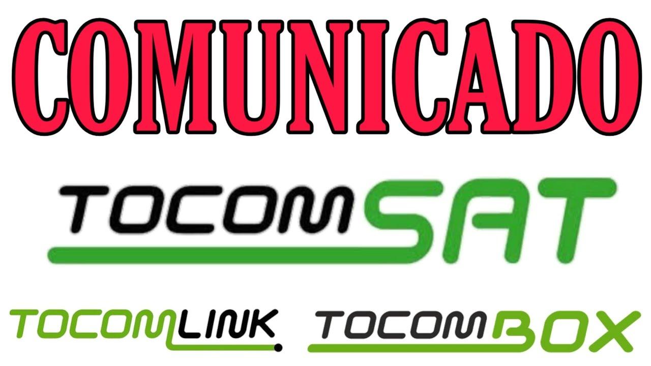 COMUNICADO TOCOM SAT TOCOMBOX TOCOM LINK - YouTube