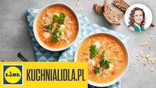 🍲🍅 Zupa pomidorowa z mlekiem kokosowym - Monika Mrozowska - Przepisy Kuchni Lidla