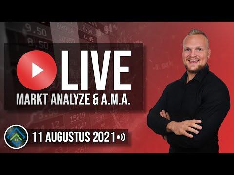 Sterke Cryptomarkt! | LIVE Koersanalyse & A.M.A. | Live met Elroy Ryon