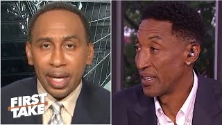 FIRST TAKE | Stephen A. BLASTS Pippen's Bubble thoughts: 'NBA Bubble is not Basketball, only pickup'