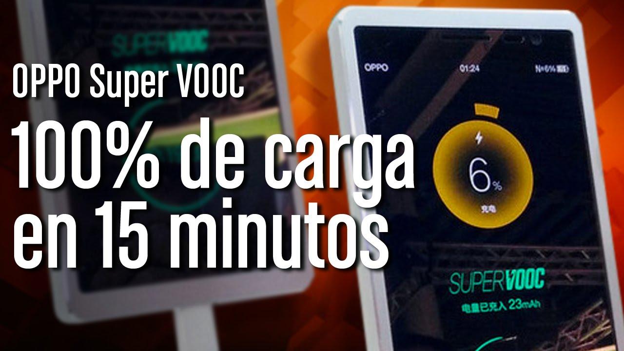 1f00ad508 OPPO Super VOOC: el móvil que se carga en 15 minutos - YouTube