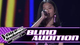 Angelica - Kasmaran | Blind Auditions | The Voice Kids Indonesia Season 3 GTV 2018