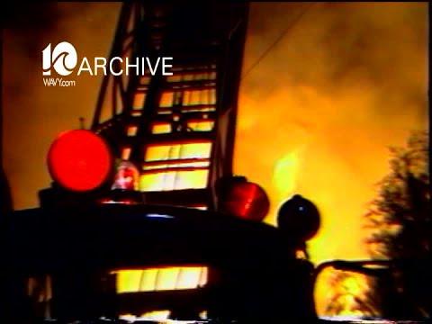 WAVY Archive: 1980 Village Auction Barn Business Fire