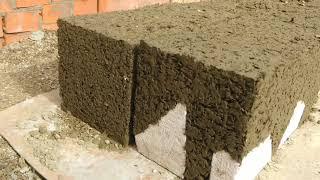 опилкобетон. изготовление блоков на вибростанке и маленькая экономия
