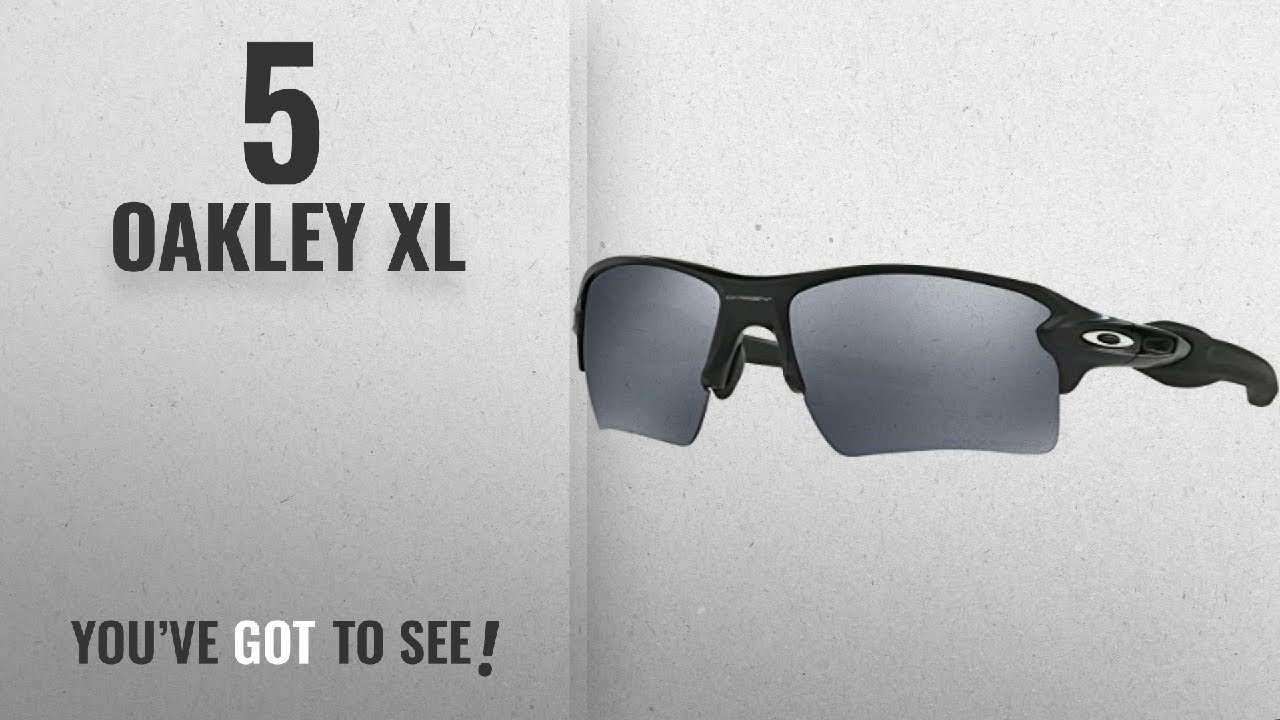 fc076588de Top 10 Oakley Xl   Winter 2018    Oakley Men s Flak 2.0 Xl OO9188 ...