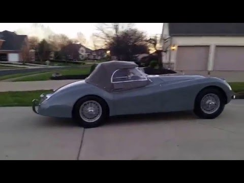 Jaguar XK120 M , roadster , 1953, restored