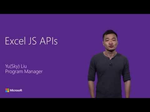 Excel JavaScript add-in APIs