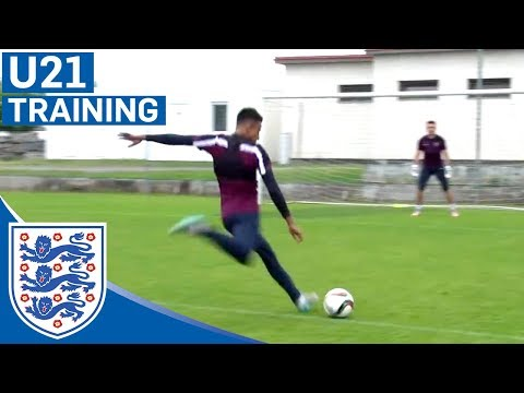 Cracking goals from Kane, Ings & England U21s | Inside Training