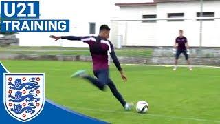 Cracking goals from Kane, Ings, Lingard & England U21s | Inside Training