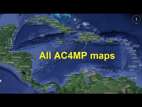 AC4 Multiplayer Maps Palenque,Tampa Bay,Prison,Havana,Saba I