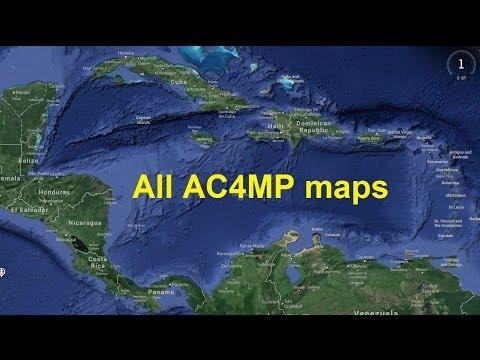 AC4 Multiplayer Maps Palenque,Tampa Bay,Prison,Havana,Saba Island,Portobelo,Santa Lucia,Saint Pierre