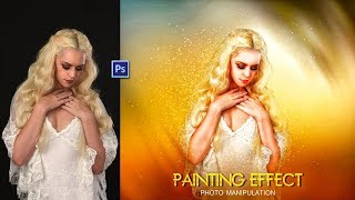 photo manipulation tutorial | How to Fantasy Photo Editing | Painting Art - photo effects
