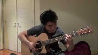 She Will Be Loved (Maroon 5) - Sungha Jung cover, Justin Goh