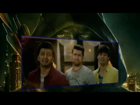 Most Funniest Scene of Great Grand Masti...Aftab|Ritesh|Vivek|Sreyas