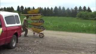 Amazing Wheelbarrow Tricks 2
