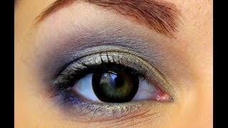 Maigi zils make-up video  / Soft blues make-up tutorial