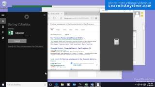 Voice Commands with Cortana Windows 10