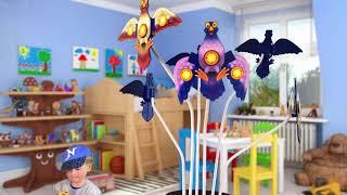 Torkel Tauben beim Spielzeugtester