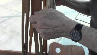 How To Take Down A French Easel