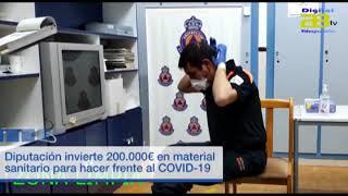 Diputación compra material sanitario para proteger a la provincia frente al COVID-19