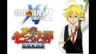 Nanatsu no Taizai Meliodas Mod | Dragon Ball Xenoverse 2