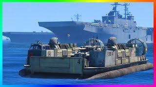 GTA Online HUGE Update Coming, NEW Naval Warfare DLC Expansion, Hidden GTA 5 Trailer QNA & MORE!