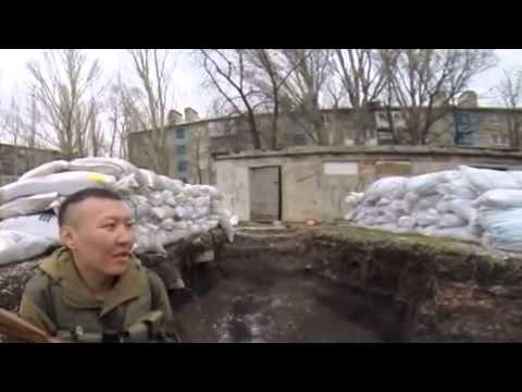 Interview with dobrovoltsem are drilled with the call sign of the divisions Waha Olkhon 19 03 2015