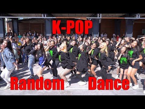K-Pop Random Dance in Public 2019  Bishkek Kyrgyzstan  Fam Entertainment