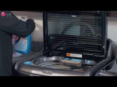 LG Top Load Washer - Proper Loading