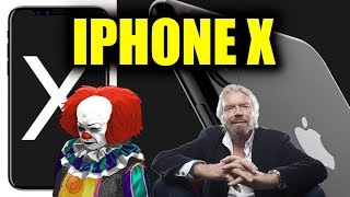NEW iPHONE X? - Equifax Sued For BILLIONS - Richard Branson - 'It' Box-Office Records