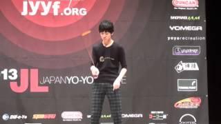 2013 East Japan Yo-Yo Contest B Block 5A Pre Junpei Shimizu