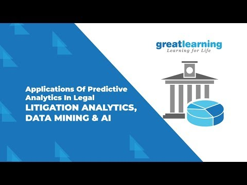 Applications of Predictive Analytics in Legal | litigation Analytics,  data mining and AI