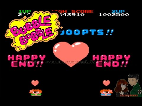 Bubble Bobble (バブルボブル) Arcade 1986 HAPPY END [ HD ]