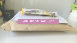 Mini Kpop Haul